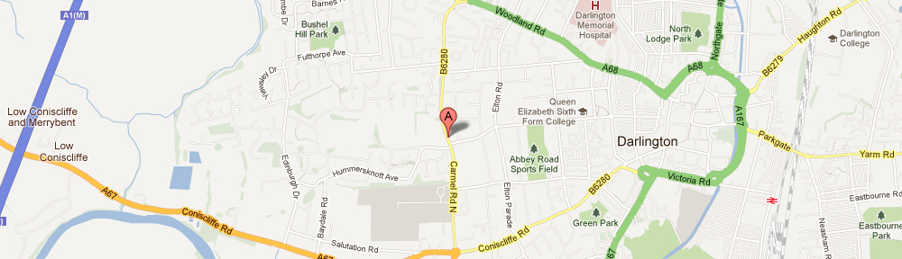 Google Map of Danesmoor House Day Nursery